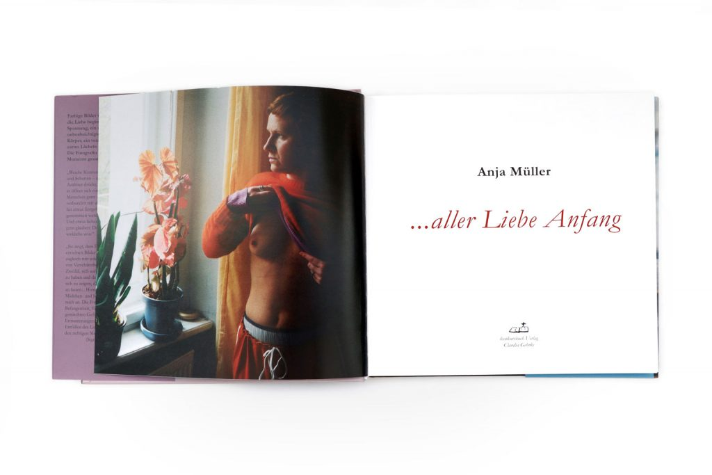 Anja Müller Berlin Fotografie Bildband ... aller Liebe Anfang konkursbuchverlag 2004