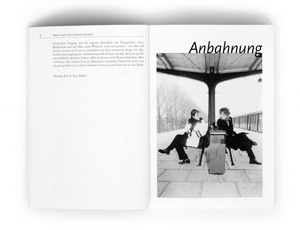 Anja Müller Berlin Fotografie Buch Schöner Kommen Querverlag 2000